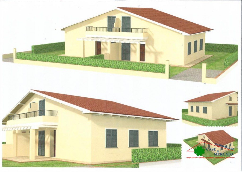 Sale Villas Capannori - Two-family villa with garden under construction divisible in two units' Locality