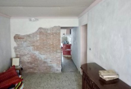 Terratetto in the context of court to be renovated