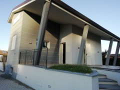 Beautiful free modern villa on 4 sides with taverna and garden - 1