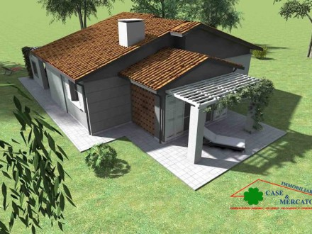Next realization Villetta with garage and garden